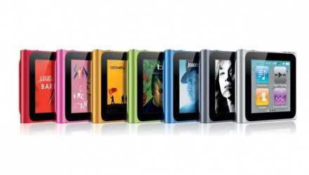 iPod Nano in 7 colorazioni