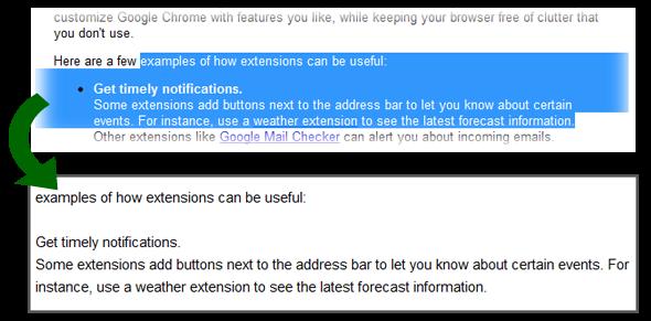 CTRL+Shift+V su Google Chrome
