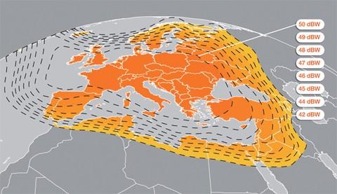 Copertura broadband satellitare KA-SAT