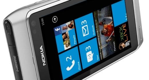 Nokia con Windows Phone 7