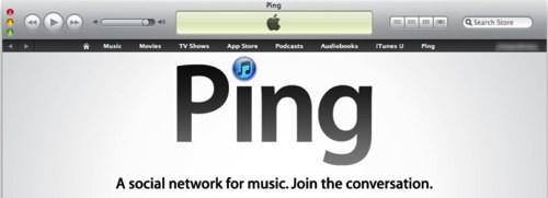 Ping, il social network di iTunes