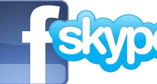 Facebook e Skype
