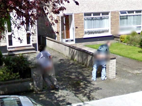 Street View a Dublino
