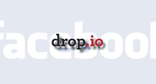 Facebook compra Drop.io