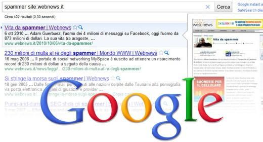 Google Full Preview