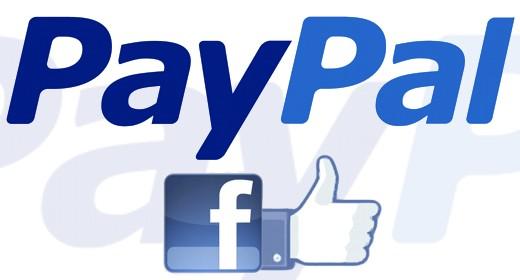 PayPal stringe amicizia con Facebook