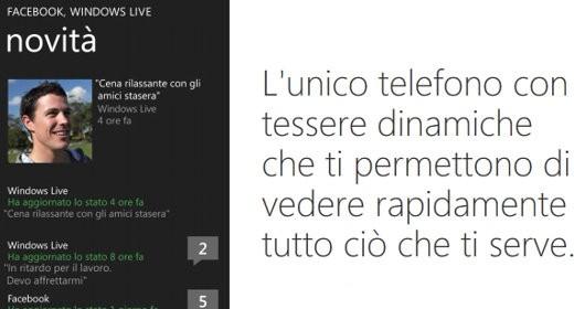 Interfaccia Windows Phone 7