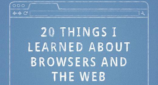 20 cose che ho imparato sul browsing e sul Web