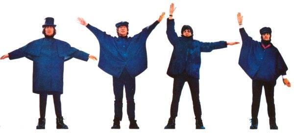 Cover dell'album Help! dei Beatles