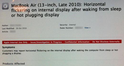 Documenti MacBook Air di BGR