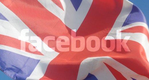 Union Jack e Facebook