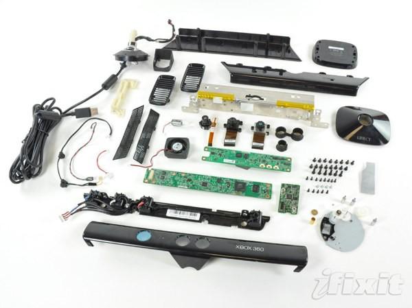 Microsoft Kinect, analisi iFixit