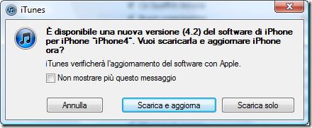 iOS 4.2 iTunes