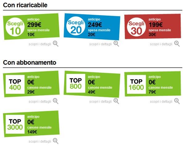 Samsung Omnia 7 nei negozi 3 Italia