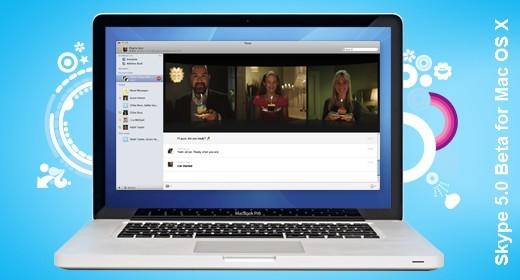 Skype 5.0 beta per Mac