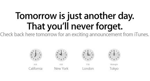 Tomorrow is just another day that you'll never forget
