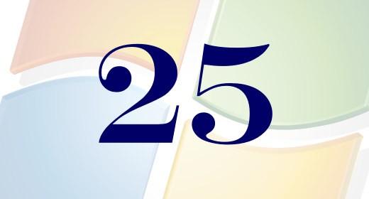 25 anni di Windows