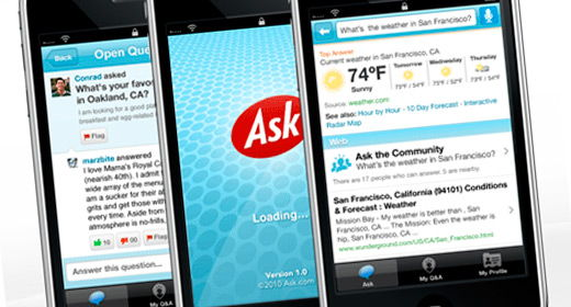 Ask.com per iPhone