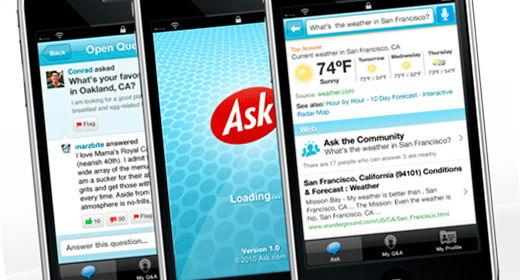 Ask.com per iPhone