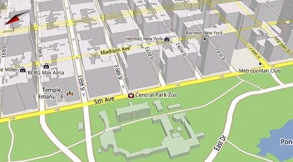 Google Maps for Mobile 5.0