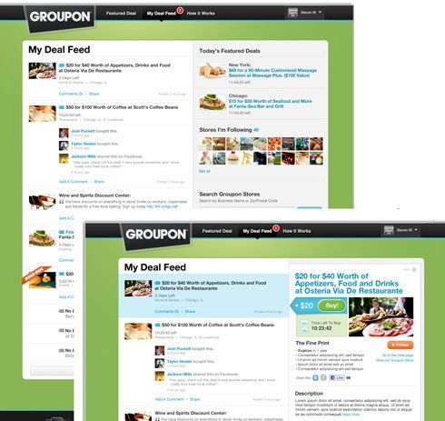 Groupon Deal Feed