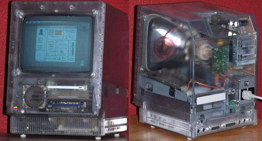 Mac SE trasparente (1987)