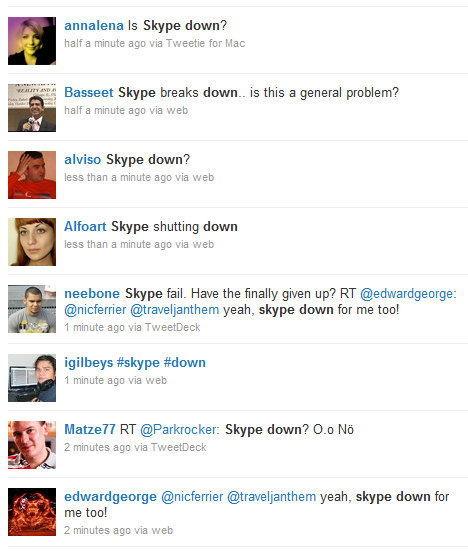 Skype is down?
