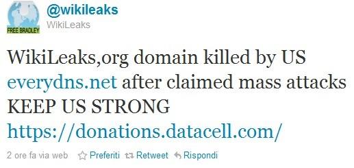 Wikileaks vs EveryDNS.net