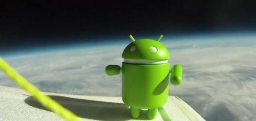 Android diventa astronauta