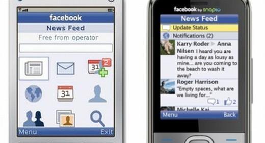 Facebook for Feature Phones