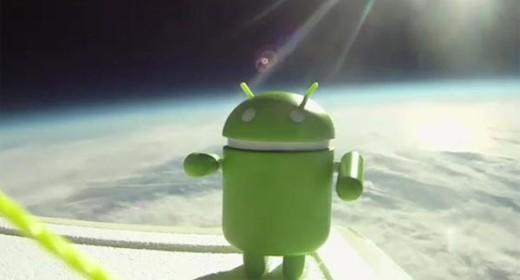 Google Android nello spazio