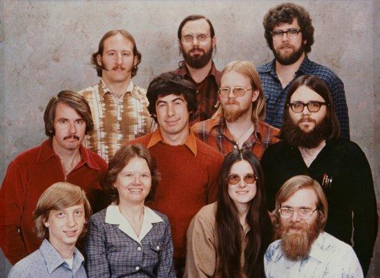 Il team Microsoft nel 1978