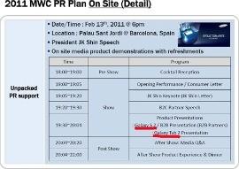 Slide presentazione Samsung Galaxy Tab 2