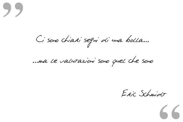 Ipse Dixit: Eric Schmidt