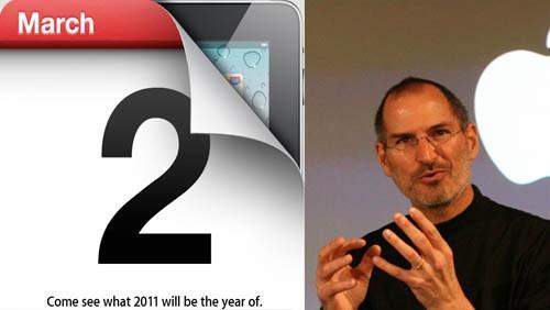 Steve Jobs e il keynote del 2 marzo