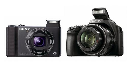 Sony DSC-HX100V e DSC-HX9V