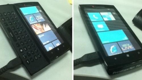 Sony Ericsson e Windows Phone 7