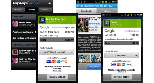 Android in-app purchase