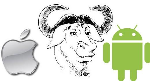 Apple, Android e GNU