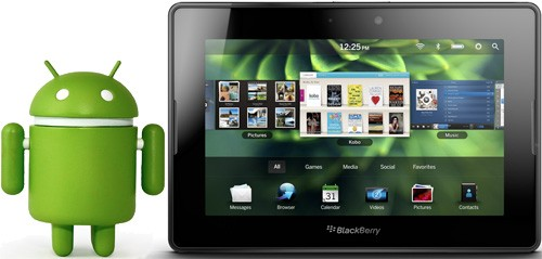 RIM BlackBerry PlayBook e Android