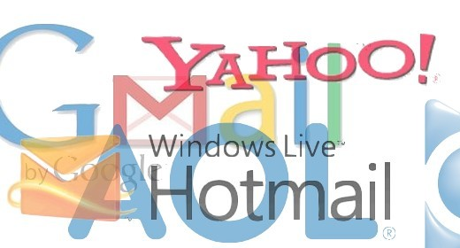 gmail yahoo hotmail aol hunch