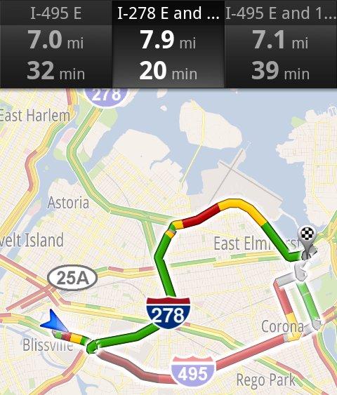 Google Maps Navigator
