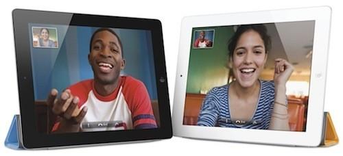 iPad 2, FaceTime