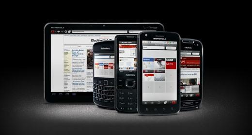 Opera Mini 6 e Mobile 11
