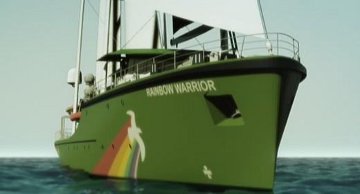 rainbow warrior III greenpeace