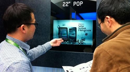 Display LCD trasparenti Samsung