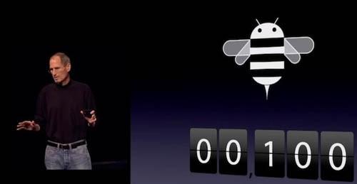 Steve Jobs e Android Honeycomb