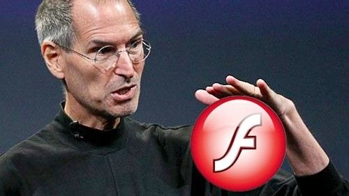 Steve Jobs e Flash