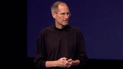 Steve Jobs al keynote di iPad 2