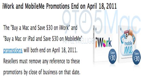 MobileMe e iWorks